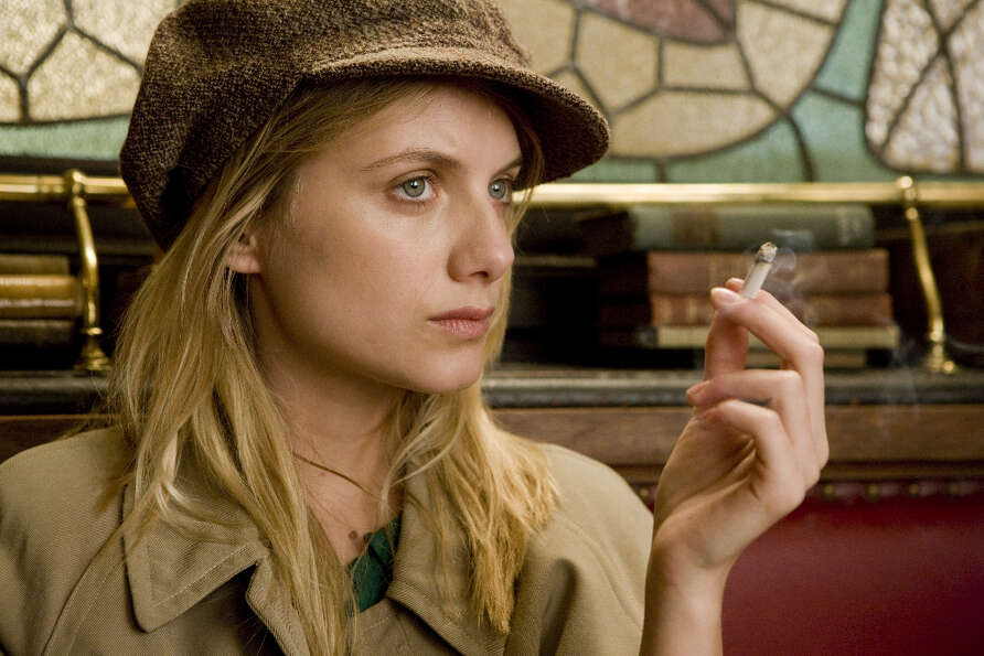Melanie Laurent as Shosanna in Quentin Tarantino's Inglourious Basterds. That film was the thing tha