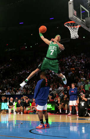 2007: Gerald Green Location: Las VegasTeam: Boston Celtics Photo: Jed Jacobsohn / 2007 Getty Images
