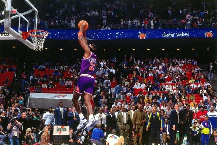 1992: Cedric Ceballos Location: OrlandoTeam: Phoenix Suns