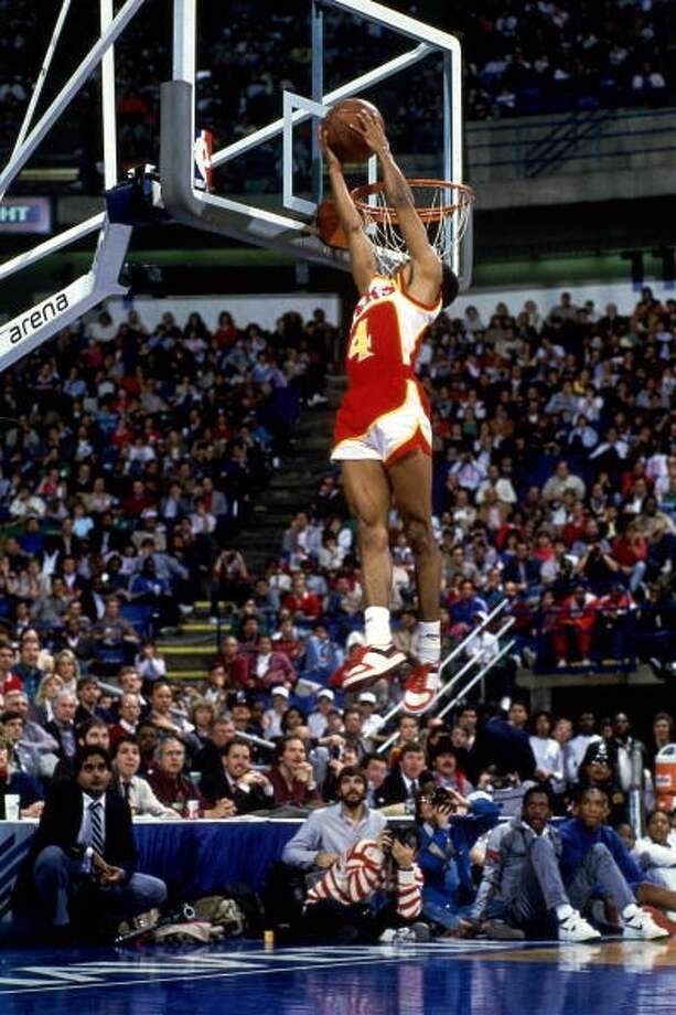 1986: Spud Webb Location: DallasTeam: Atlanta Hawks
