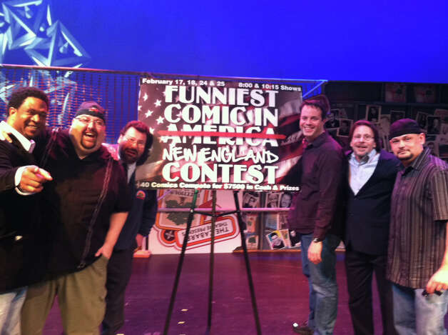 Crowning comic: The final round of the Funniest Comic in New England will take place at Mohegan Sun on Saturday, Feb. 23. Photo: Contributed Photo
