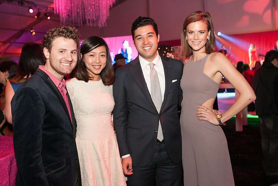 Paul Jockish, Yvonne Chen, Justin Ungson and Rachel Jackson. Photo: Drew Altizer Photography