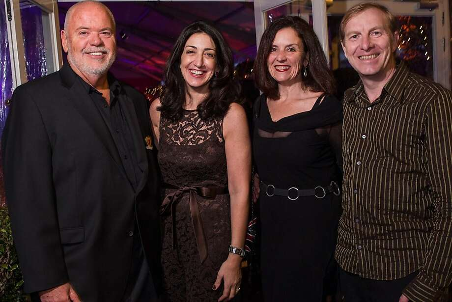 Patrick Smith, Pam Baer, Kym Hough and Graham Hough. Photo: Drew Altizer Photography
