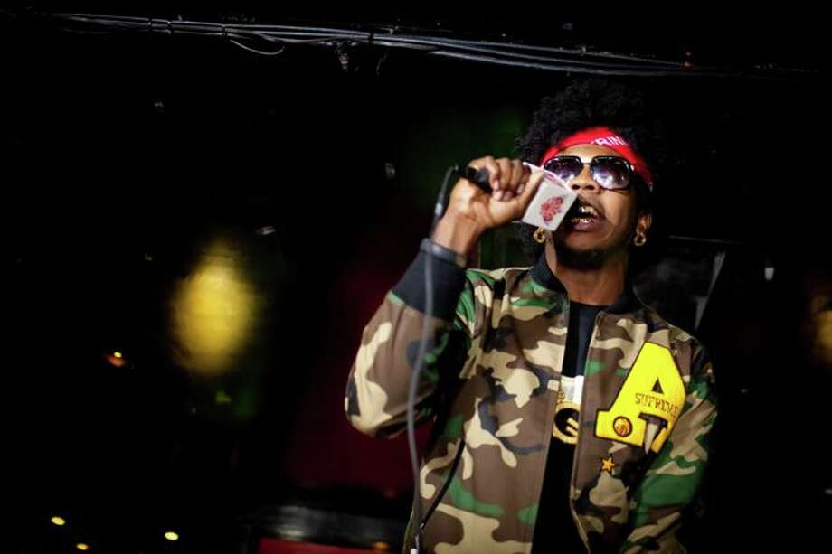 Trinidad James performs at All-Star Party at the Drake hosted by Trinidad James, Andre Johnson and Jas Prince on Thursday, Feb. 14, 2013.Collins Metu Photography Photo: Collins Metu / © 2013 Collins Metu Photography