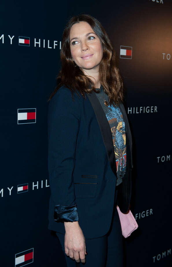 Drew Barrymore arrives at the Tommy Hilfiger LA Flagship Opening on February 13, 2013 in Los Angeles, California. Photo: Valerie Macon, Getty Images / 2013 Getty Images