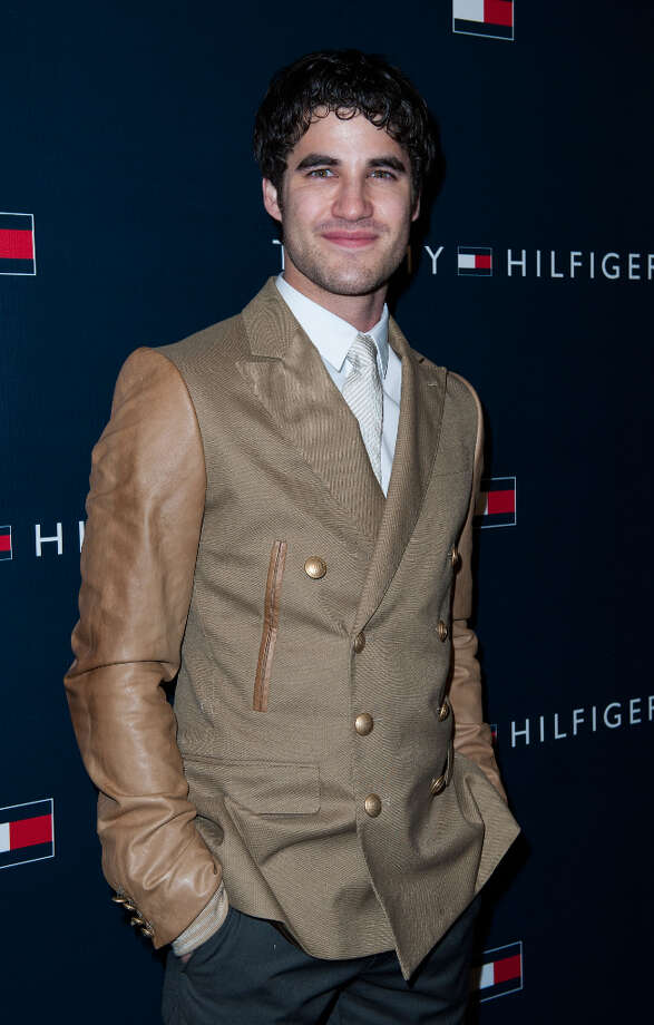 Darren Criss arrives at the Tommy Hilfiger LA Flagship Opening on February 13, 2013 in Los Angeles, California. Photo: Valerie Macon, Getty Images / 2013 Getty Images