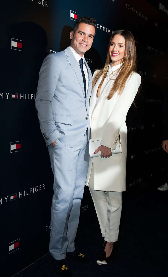Cash Warren and Jessica Alba arrives at the Tommy Hilfiger LA Flagship Opening on February 13, 2013 in Los Angeles, California. Photo: Valerie Macon, Getty Images / 2013 Getty Images