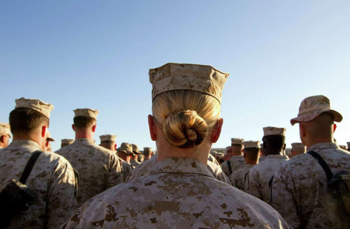 Pentagon Chief Leon Panetta removed the ban on women serving combat roles on Jan. 23.