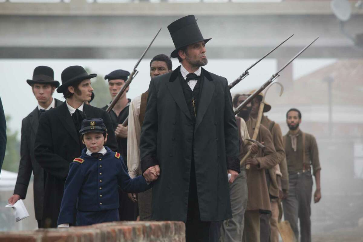Billy Campbell portrays Abraham Lincoln in the television film
