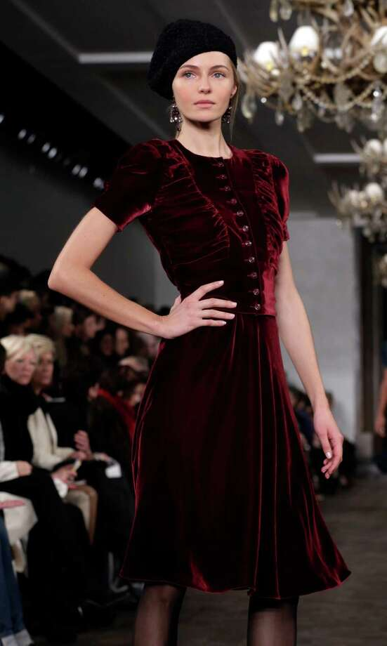 The Ralph Lauren Fall 2013 collection is modeled during Fashion Week in New York,  Thursday, Feb. 14, 2013. (AP Photo/Richard Drew) Photo: Richard Drew, STF / AP