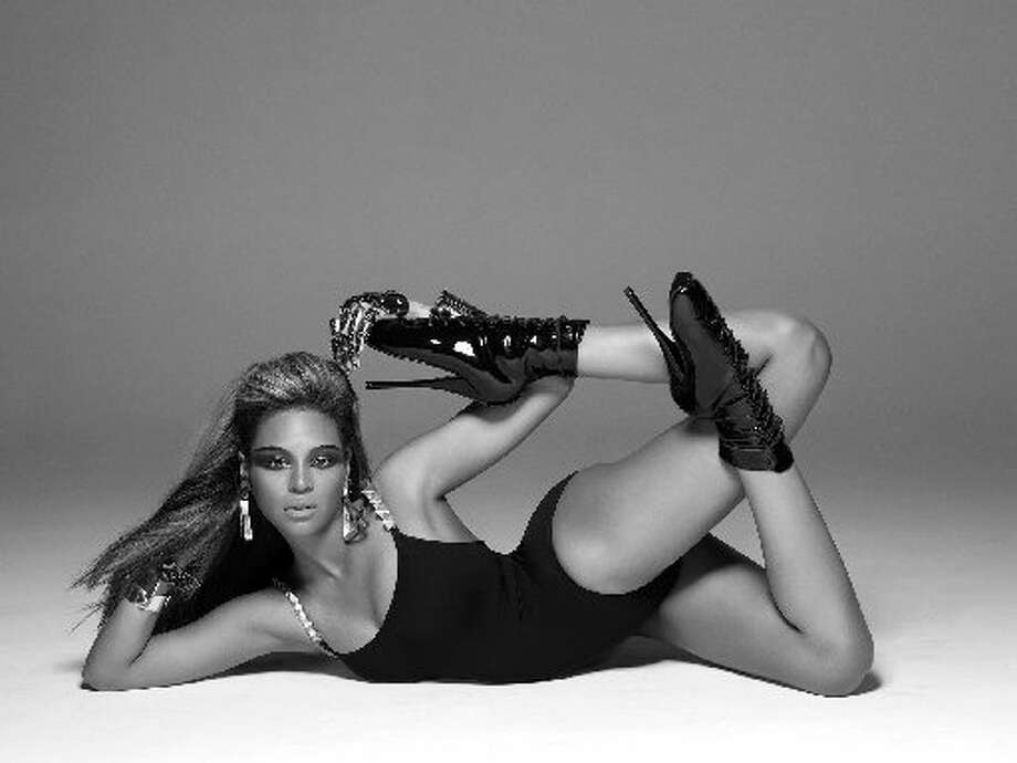 The singer's alter ego, Sasha Fierce, takes over in this shot. (AP Photo/Music World Entertainment/Columbia Records)