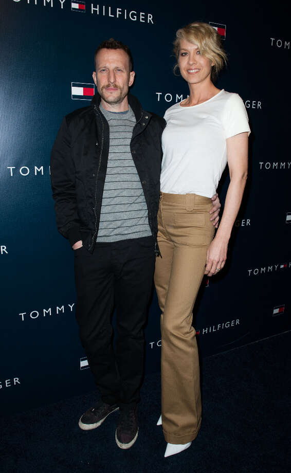 Bodhi Elfman and Jenna Elfman arrives at the Tommy Hilfiger LA Flagship Opening on February 13, 2013 in Los Angeles, California. Photo: Valerie Macon, Getty Images / 2013 Getty Images