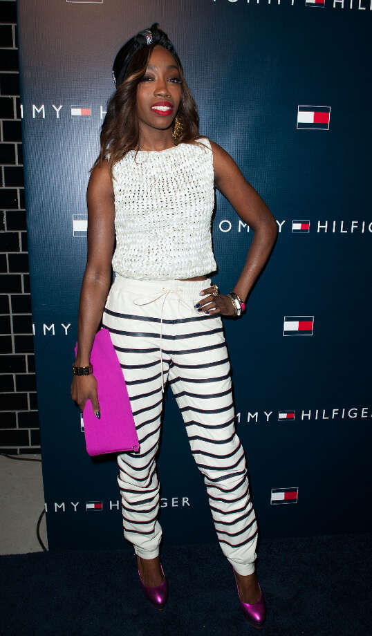 Estelle arrives at the Tommy Hilfiger LA Flagship Opening on February 13, 2013 in Los Angeles, California. Photo: Valerie Macon, Getty Images / 2013 Getty Images