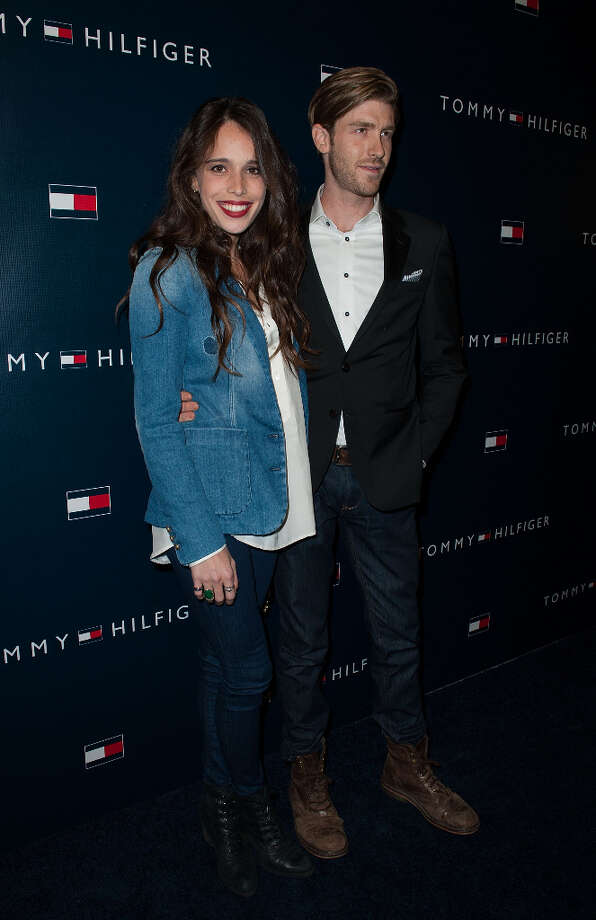 Chelsea Tyler and Jon Foster arrives at the Tommy Hilfiger LA Flagship Opening on February 13, 2013 in Los Angeles, California. Photo: Valerie Macon, Getty Images / 2013 Getty Images