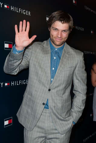 Liam McIntyre arrives at the  Tommy Hilfiger LA Flagship Opening on February 13, 2013 in Los Angeles, California. Photo: Valerie Macon, Getty Images / 2013 Getty Images
