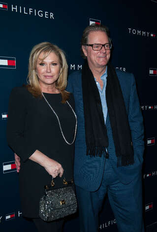Kathy Hilton and Rick Hilton arrives at the  Tommy Hilfiger LA Flagship Opening on February 13, 2013 in Los Angeles, California. Photo: Valerie Macon, Getty Images / 2013 Getty Images