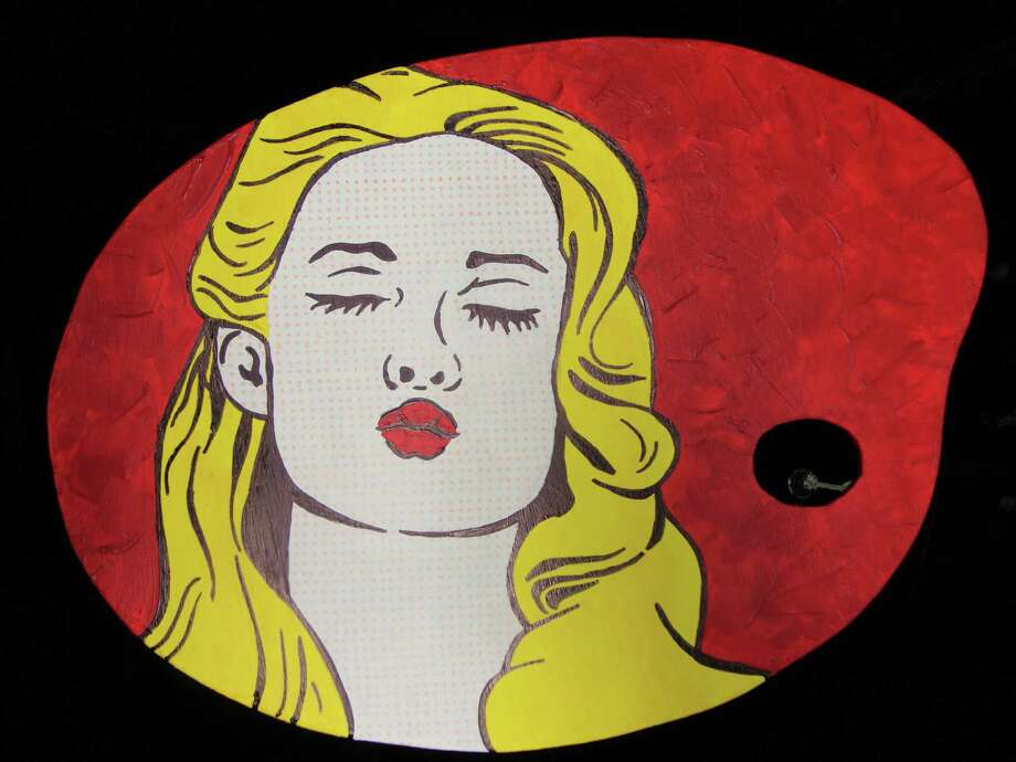 """""""Kiss"""" by The Woodlands High Schol graduate Katherine Mazxanek will be auctioned at the Palettes & Paintings event."""