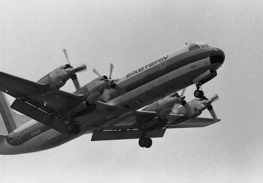 """Lockheed's L-188 Electra endured similar difficulties after entering service in 1959, with three fatal crashes in 14 months. Testing in NASA's Transonic Dynamics Tunnel found that, in two of the crashes, the engines came off of the airplane because the large propellers were causing a phenomenon called """"propeller whirl flutter."""" Lockheed fixed the problem, but ended up building just 174 L-188s and lost an estimated $57 million, plus another $55 million in lawsuits. Photo: S/flickr"""