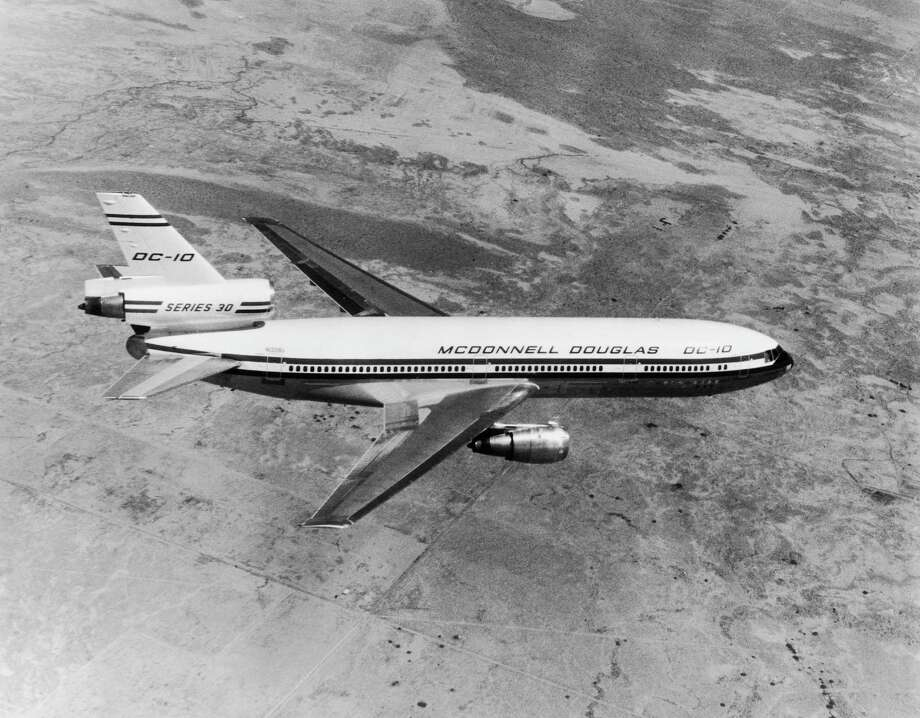 McDonnell Douglas went on to produce 386 DC-10s in six commercial models through 1989, plus 60 KC-10 tanker/cargo models for the U.S. Air  Force. Photo: Apic, ©APIC / ©APIC