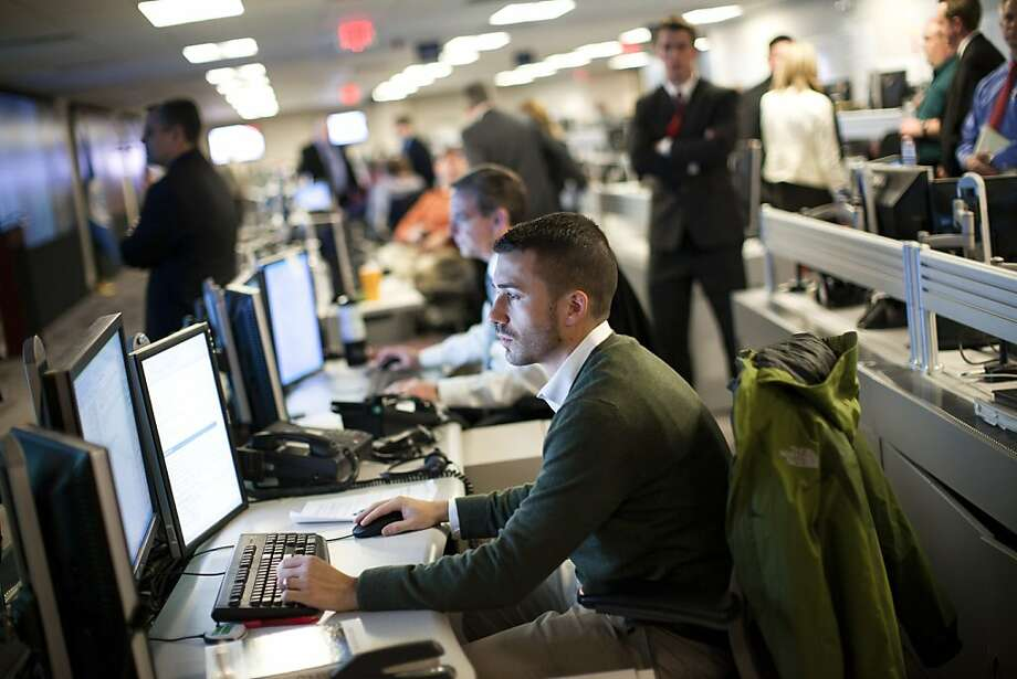 The National Cybersecurity and Communications Integration Center is part of Homeland Security. Photo: Drew Angerer, New York Times