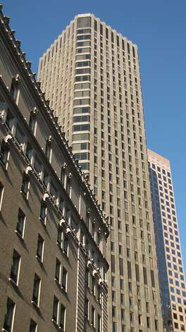 One Post St. is a 38-story, 533 foot office tower that opened in 1968 along Market Street near Montgomery Street, at what then was the entrance to San Francisco's Financial District Photo: John King, The Chronicle