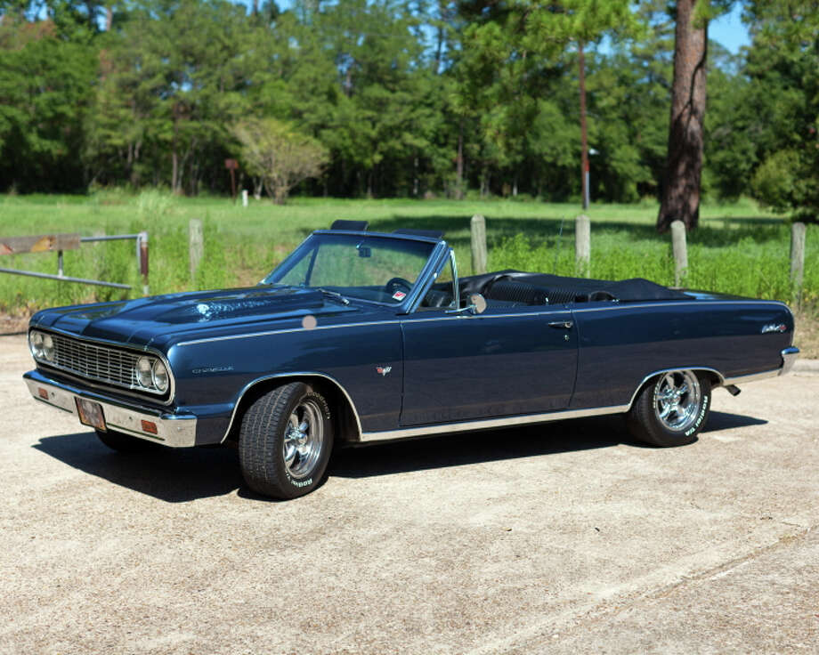 Doug and Carol Tomamichel fell in love when they first spotted ?Skully,? a 1964 Chevelle Malibu SS convertible.