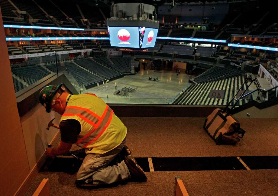 Charlotte BobcatsFacility: Time Warner Cable ArenaOpened: 2005Capacity: 19,077 Photo: Chuck Burton, AP / AP