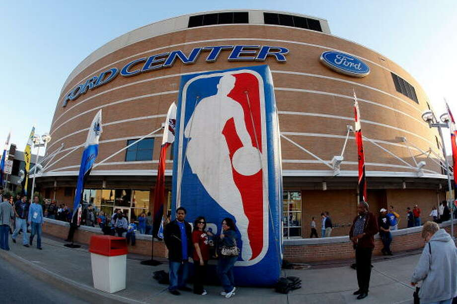 Chesapeake Energy Arena – Oklahoma City Thunder – $3.7 million per year. Photo: Chris Graythen, Getty Images / 2008 Getty Images