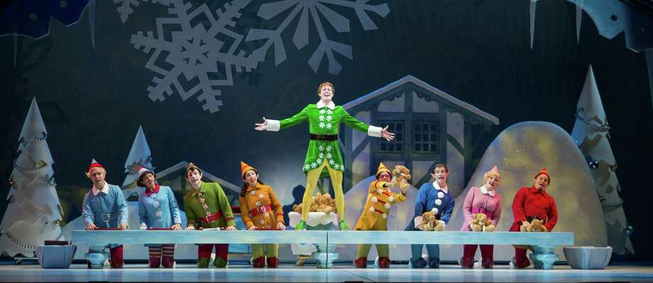 """Elf,"" the musical theater production of the Will Ferrell movie, will be part of Theatre Under The Stars 2013-14 season. Photo: Mark Kitaoka / @Mark Kitaoka"