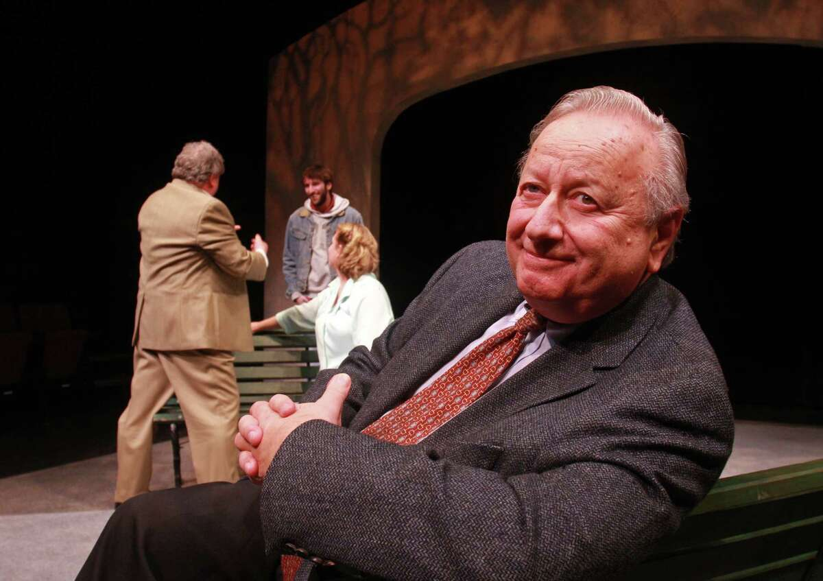 Sidney Berger directed 'At Home at the Zoo' by Edward Albee at the University of Houston in 2009. Berger became chairman of the drama department in 1969, when there was a faculty of three.