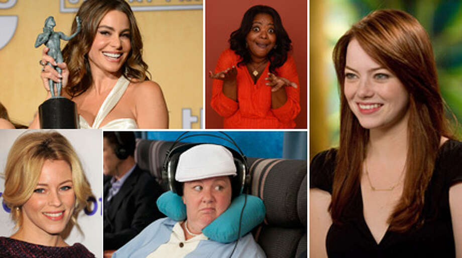 "It's been a great few months for funny ladies. Tina Fey and Amy Poehler killed it hosting the Golden Globes, Jennifer Lawrence showed a lighter comedic side in ""Silver Linings Playbook,"" and Melissa McCarthy is the best thing in ""Identity Thief."" In honor of that, here's our list for best comedic actresses, proving again that women can be funny and beautiful at the same time."