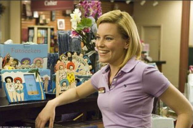 Elizabeth Banks in ''The 40-Year-Old Virgin.''