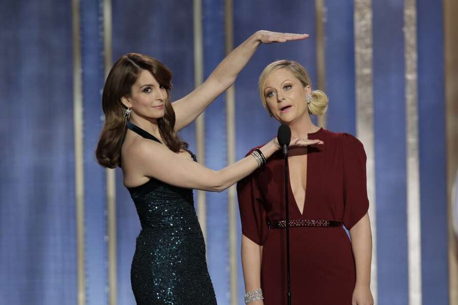 Tina Fey and Amy Poehler took the jokes to a whole new level as hosts of the Golden Gl