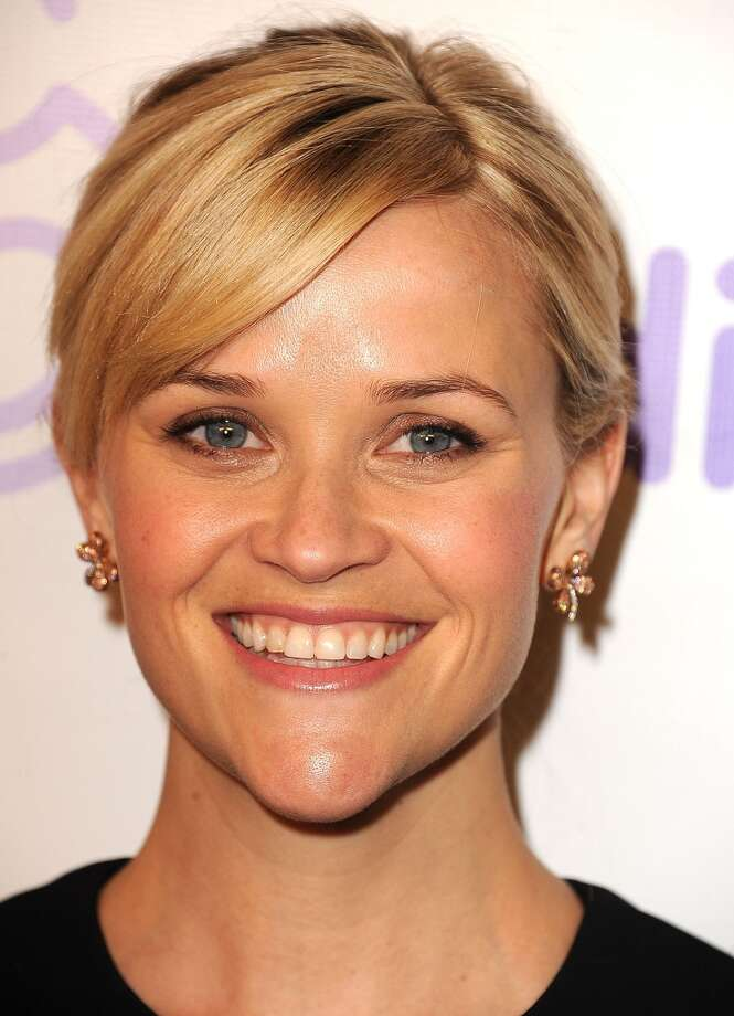 """Reese Witherspoonused her kewpie-doll eyes and determined chin to great effect in 2001's """"Legally Blonde,"""" her funniest movie."""