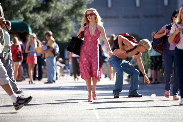 Reese Witherspoon in ''Legally Blonde.''