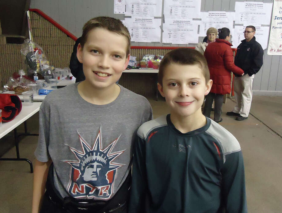 Were you Seen at the 20th Annual Rink Rat Tournament, sponsored by the Troy Albany Youth Hockey Association, on Friday, Feb. 15, 2013? The event continues through Monday, Feb. 18. Photo: Kaitlyn Jasnica