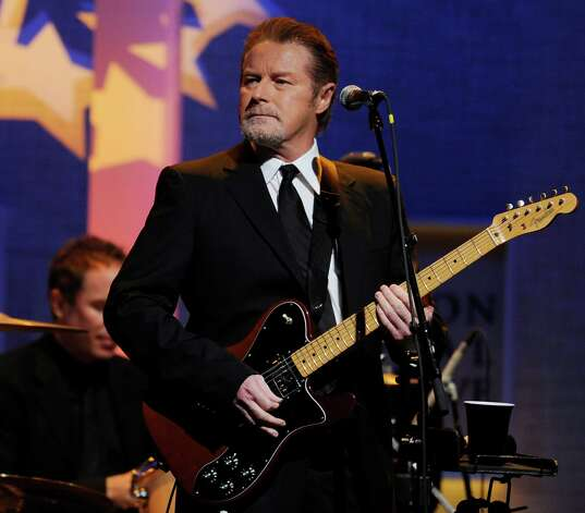 Don Henley, formerly of the Eagles performs during the Clinton Global Citizen Awards Ceremony, Thursday Sept. 23, 2010 in New York. (AP Photo Stephen Chernin) Photo: Stephen Chernin, FRE / FR76594 AP