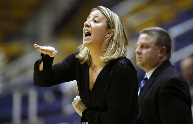 California Golden Bears New head coach Lindsay Gottlieb calls out a play during the Bears game with Vanguard Lions. The Bears won 99-58, in a preseason exhibition game. The Bears are looking to return to the top-25 for the first time since the 2009-10 Thursday November 3, 2011 Photo: Lance Iversen, The Chronicle