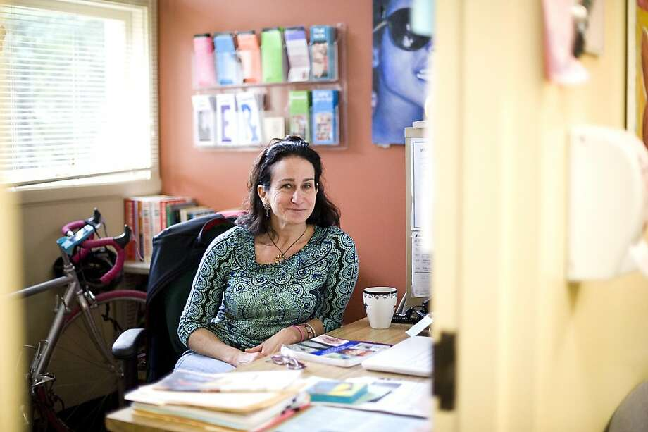 Karen Blanpied poses for a portrait in the Wellness Clinic at Piedmont High School in Piedmont, CA Monday February 4th, 2013.  Karen is a school counselor and  also teaches a course to sophomores called Social Psychology, which deals with dating, sexuality, sexual harassment, drugs, etc. Photo: Michael Short, Special To The Chronicle