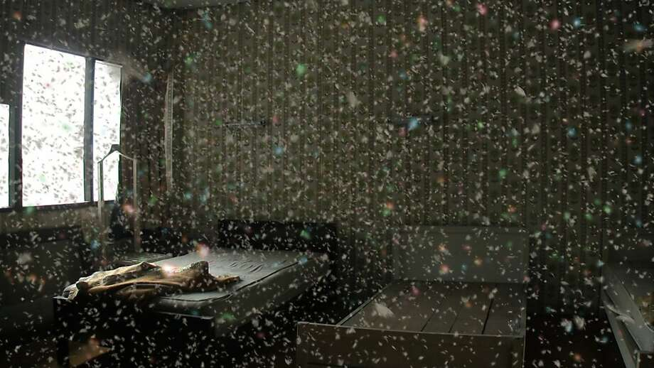 "still from ""Morakot (Emerald)"" (2007) single-channel video projection; color, sound, 10:50 min., looped by  Apichatpong Weerasethakul    [Berkeley Art Museum purchase  bequest of Phoebe Apperson Hearst, by exchange] Photo: Apichatpong Weerasethakul"