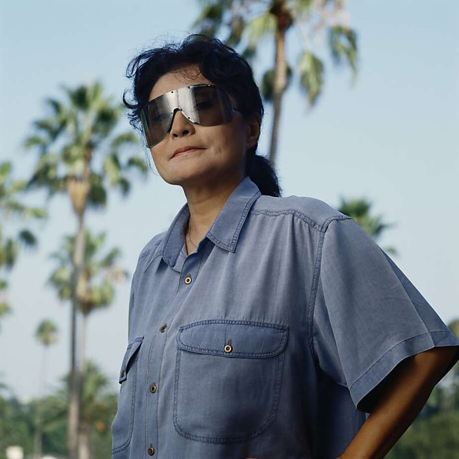 Japanese artist and musician Yoko Ono, 1988. (Photo by Nancy R. Schiff/Getty Images) Photo: Nancy R. Schiff