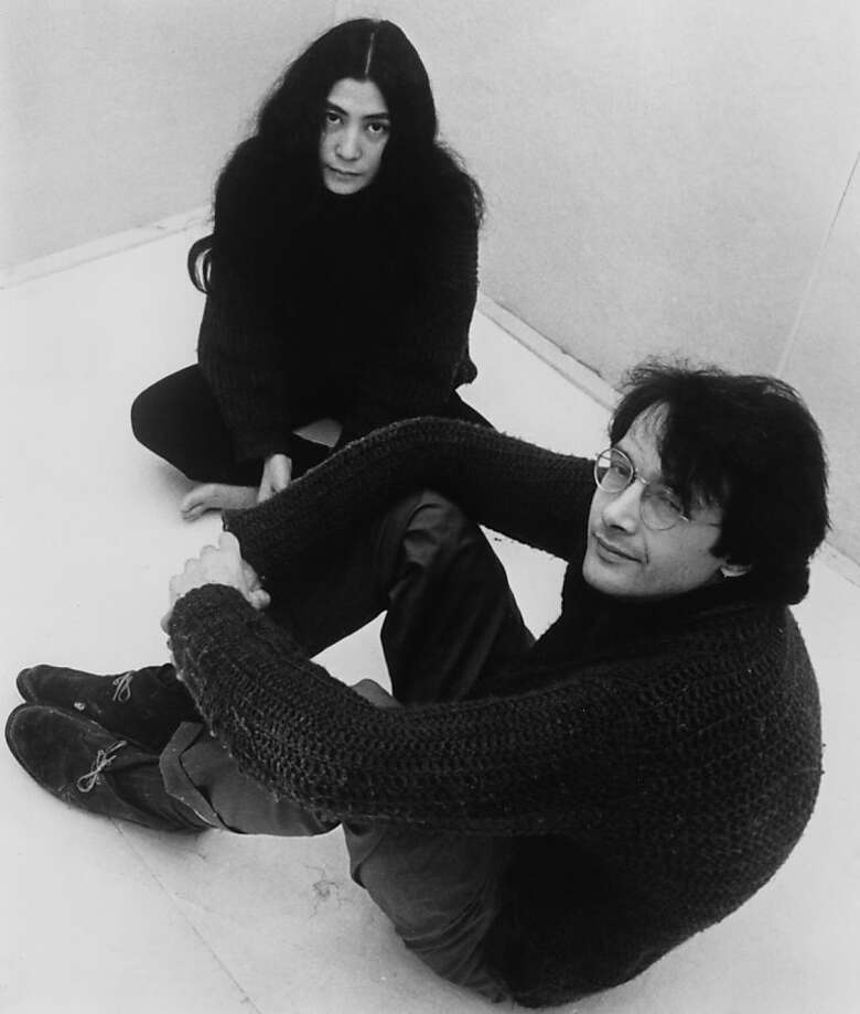 Japanese artist and musician Yoko Ono with her second husband, American film producer, art promoter and jazz musician Anthony Cox, circa 1965. (Photo by Keystone/Hulton Archive/Getty Images) Photo: Keystone