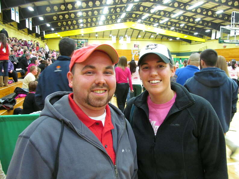 Were you Seen at the Siena women's basketball 13th Annual Pink Zone Game at the Alumni Recreation