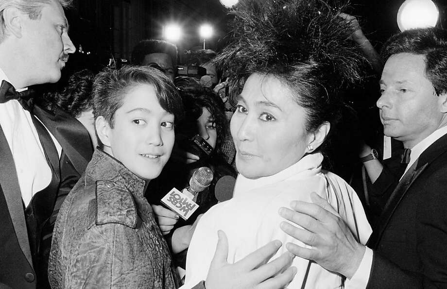 Yoko Ono and Sean Lennon  (Photo by Time & Life Pictures/Getty Images) Photo: Time & Life Pictures