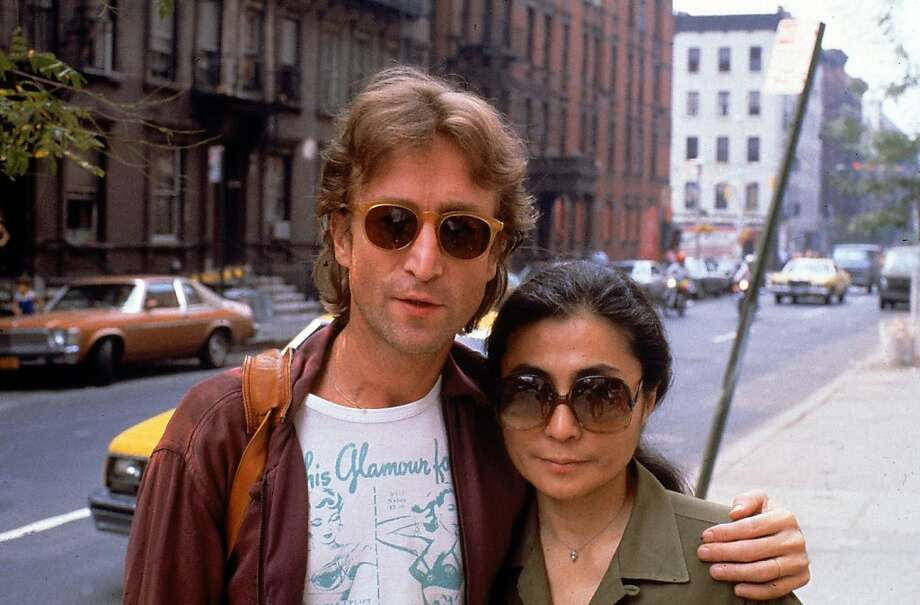 Rock star John Lennon and Yoko Ono.  (Photo by David Mcgough/DMI/Time Life Pictures/Getty Images) Photo: David McGough