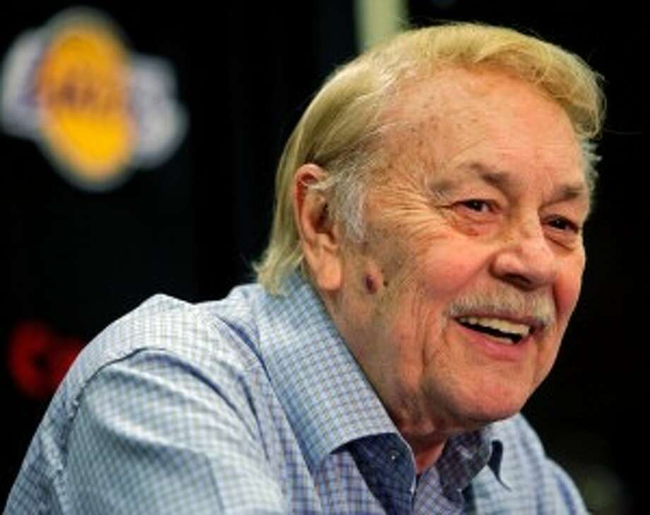Since Jerry Buss purchased the Lakers in 1979 they have won 10 titles with a rotating cast of stars — from Kareem Abdul-Jabbar to Magic Johnson to Bryant and Shaquille O'Neal. (AP Photo/Damian Dovarganes, File)
