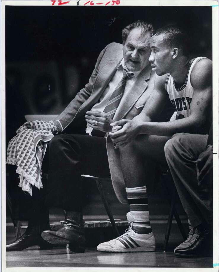 Guy Lewis was one of the first college basketball coaches who recruited African-Americans during the 1960s.  / Houston Chronicle