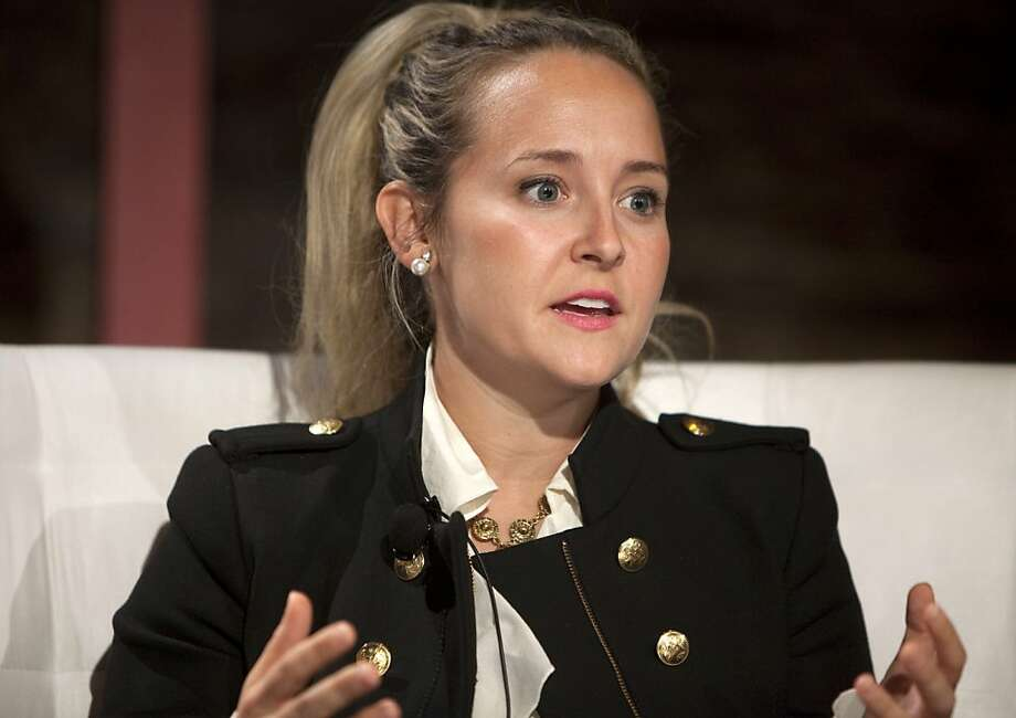 Alexa von Tobel, founder and CEO of 4-year-old LearnVest, is becoming a major speaker as an expert on personal finance. Photo: Ramin Talaie, Bloomberg