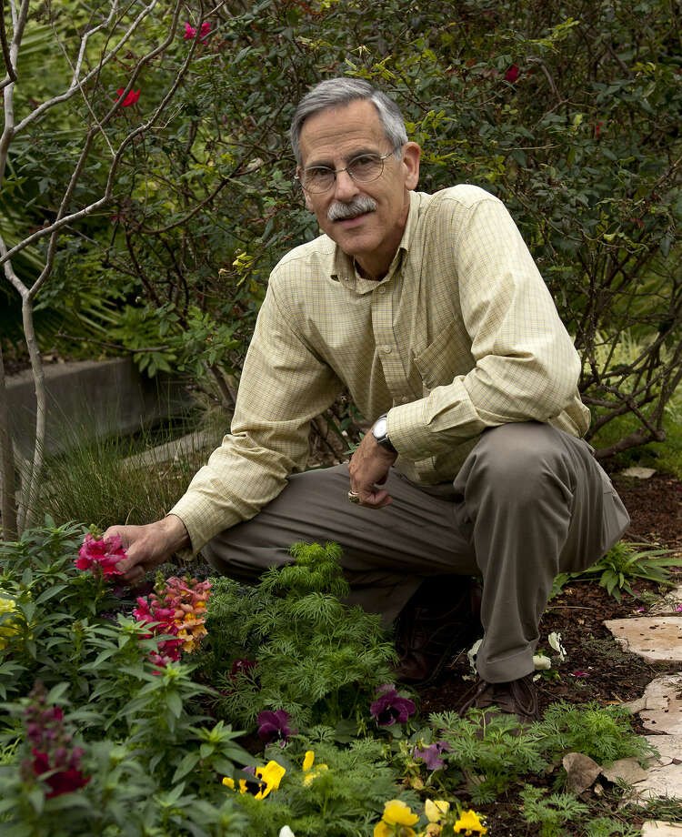 Mark Nauschutz is the Alamo horticulturist.