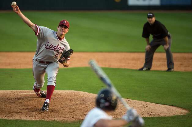 Stanford pithcer Mark Appel delivers a pitch. Photo: Smiley N. Pool, Houston Chronicle / © 2013  Houston Chronicle